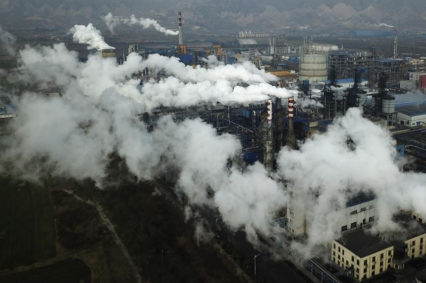 China's total annual carbon emissions stand at around 12.3 billion tonnes, according to the last full inventory covering the year 2014.