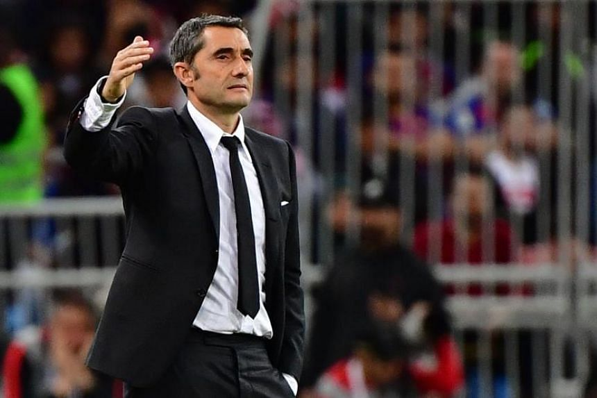 Ernesto Valverde is the first coach Barcelona have dispensed with in the middle of a campaign since Louis van Gaal was sacked in January 2003 with the team sitting 12th in the standings.