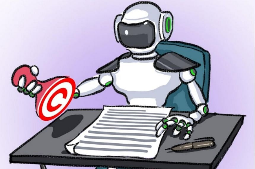 A court in Nanshan district of Shenzhen ruled that a report written by Tencent's AI program, Dreamwriter, enjoys copyright.