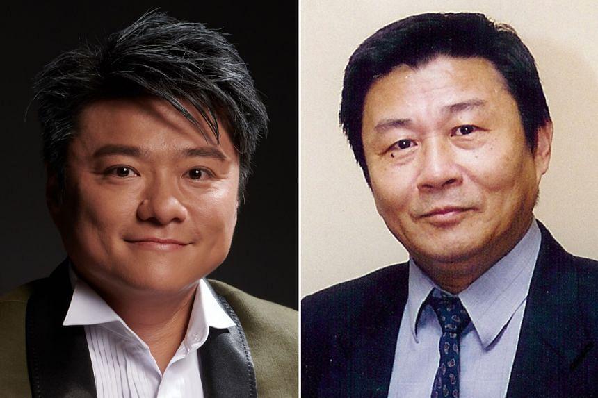 Lincoln Lo (left) and Law Wai Lun (right).