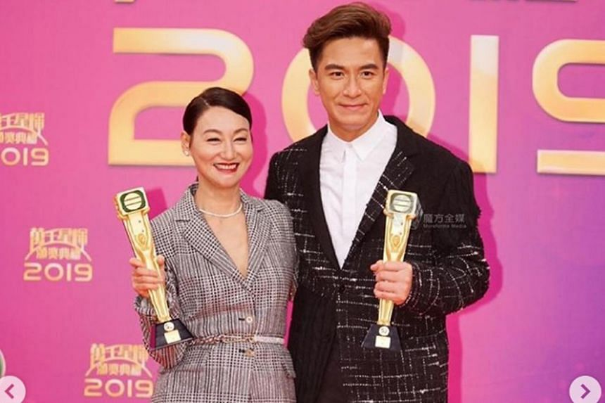 Kara Wai and Kenneth Ma have been crowned Best Actress and Best Actor at the TVB awards.