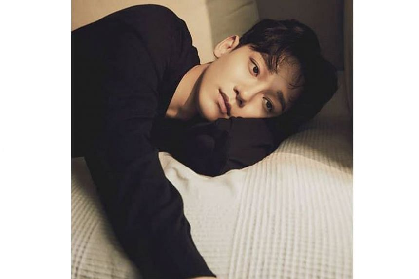 Boy band Exo singer Chen hinted that his girlfriend may be pregnant in his marriage announcement.