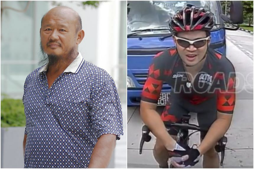 Lorry driver Teo Seng Tiong was found guilty of causing hurt to cyclist Eric Cheung and failing to report the accident to the police within 24 hours.