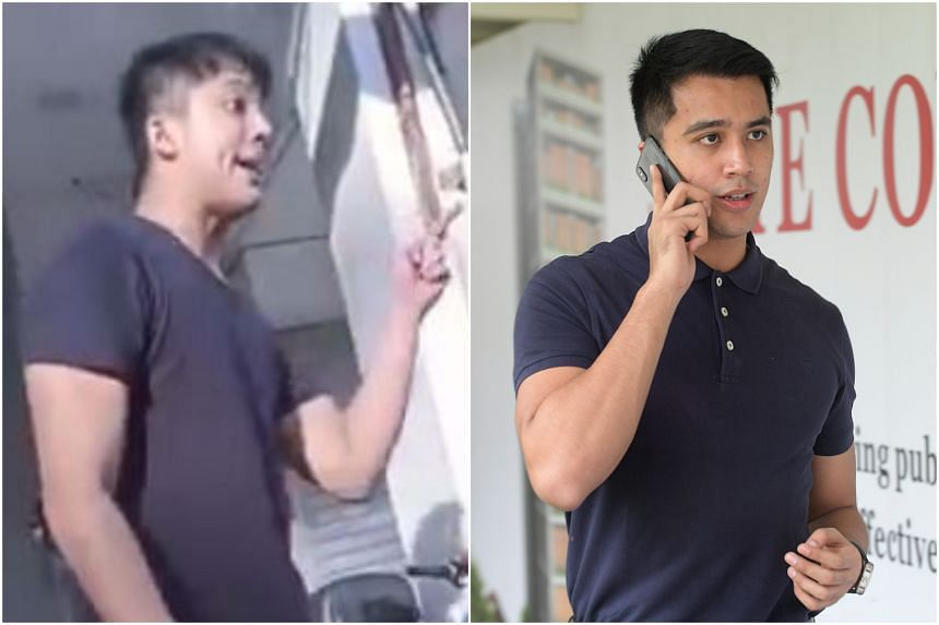 In the latest clip, Singaporean singer-actor Aliff Aziz launched a tirade against an unknown person at what seems to be a roadside coffee shop.