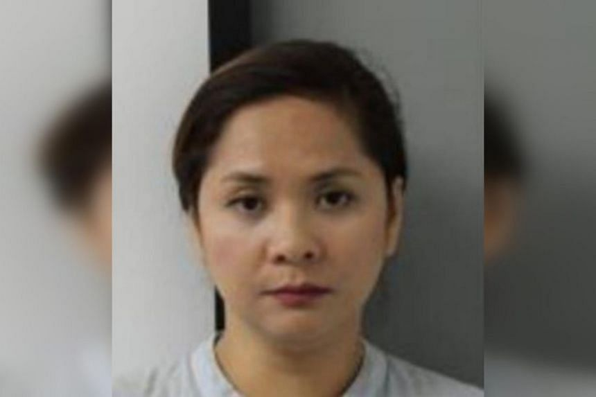 De Luna Noriza Dancel was arrested on Oct 25, 2017 after checks by ICA officers showed that she had no records of enrolment at the Centro Escolar University where she claimed to have studied.