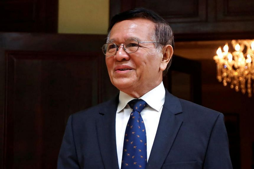 Cambodian opposition party leader Kem Sokha was freed from house arrest in November, but a ban on his engaging in political activity was kept in place.