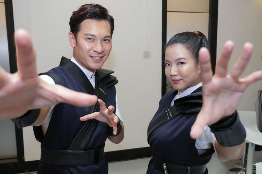Supernatural drama Hello From The Other Side - Rui En's first drama since 2017 - was the most-watched Chinese drama on the local broadcaster.