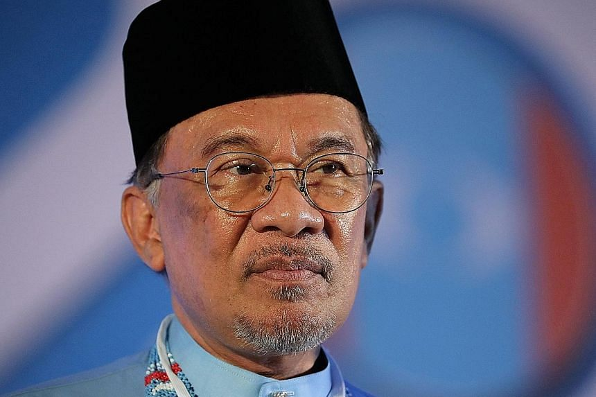 "PKR president Anwar Ibrahim has denied the accusation, describing it as ""politics at its worst""."