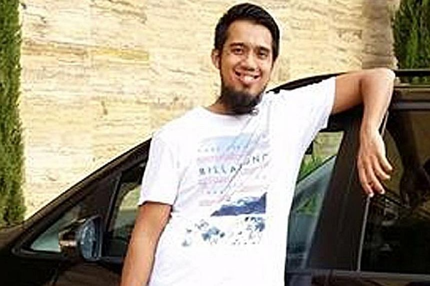 Imran Kassim, 36, was the first Singaporean here to be charged with terror financing in April last year. PHOTO: IMRAN KASSIM/FACEBOOK