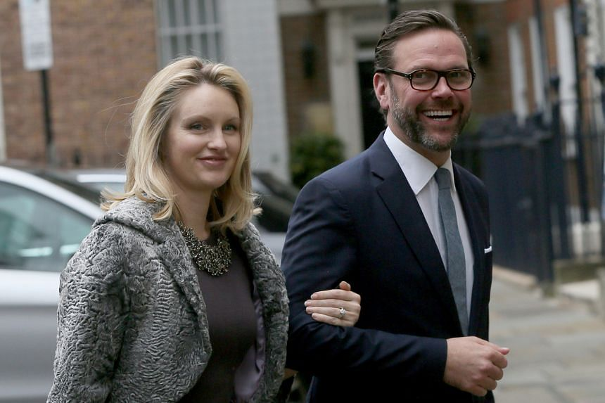 Mr James Murdoch and his wife, Kathryn, have taken issue with climate coverage by the family's businesses, including News Corp and Fox Corp, according to his representative.