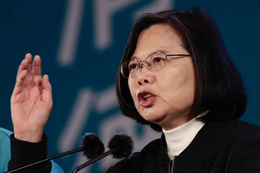 Taiwan President Tsai Ing-wen said she hopes China can understand the opinion and will expressed by the Taiwanese people.
