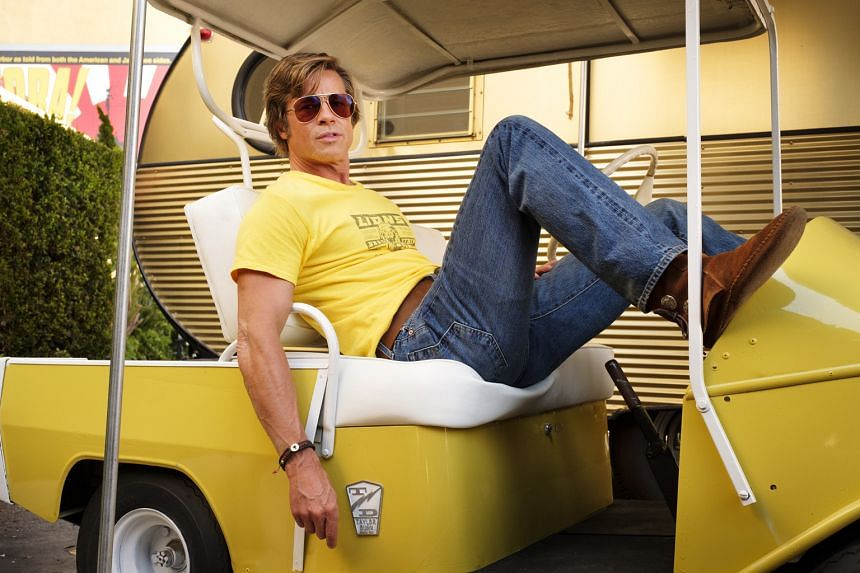 Brad Pitt is in the running for Best Supporting Actor for his role in Quentin Tarantino's Once Upon A Time... In Hollywood.
