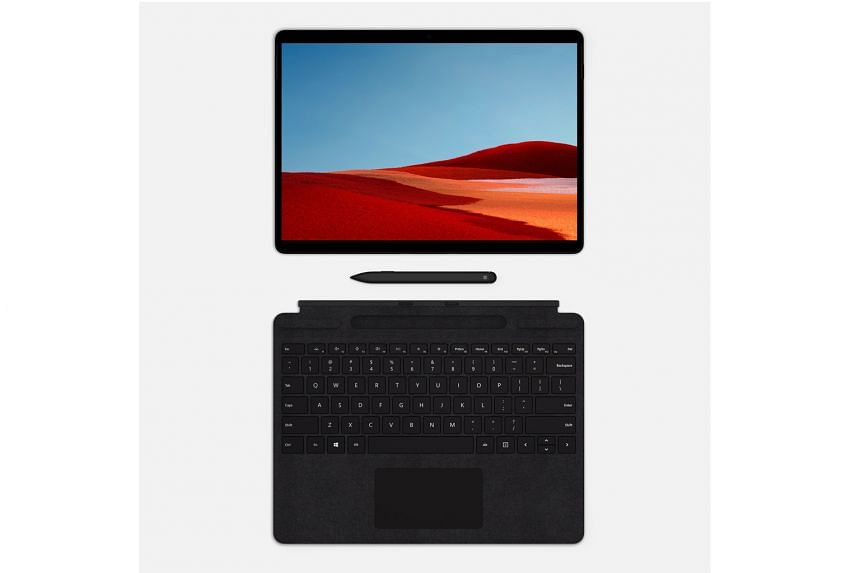 Microsoft Surface Pro X: HYBRID LAPTOP.
