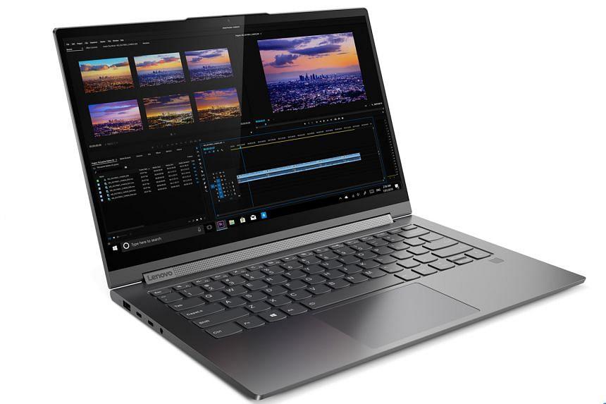 Lenovo's Yoga C940 convertible laptop.