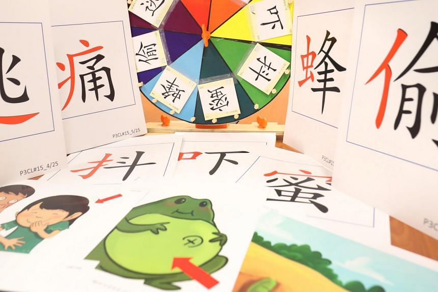 Resources such as word cards, pictures, games, and lesson plans to support teaching Chinese.