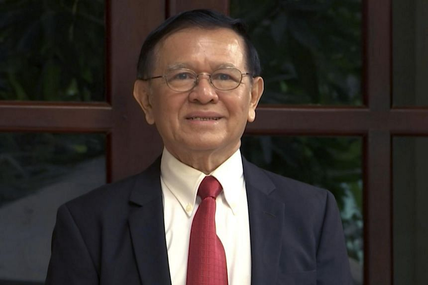 Cambodian opposition leader Kem Sokha co-founded the now-banned Cambodia National Rescue Party.