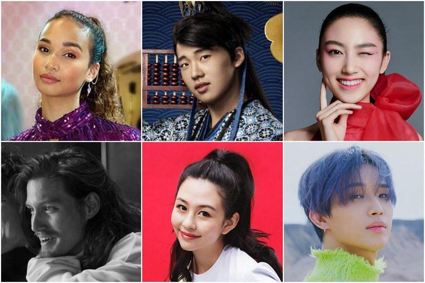 (Clockwise from top left) Iman Fandi, Guo Qilin, Ella Yam, Hyunsik, Andrew Chau and Shum Yuet.