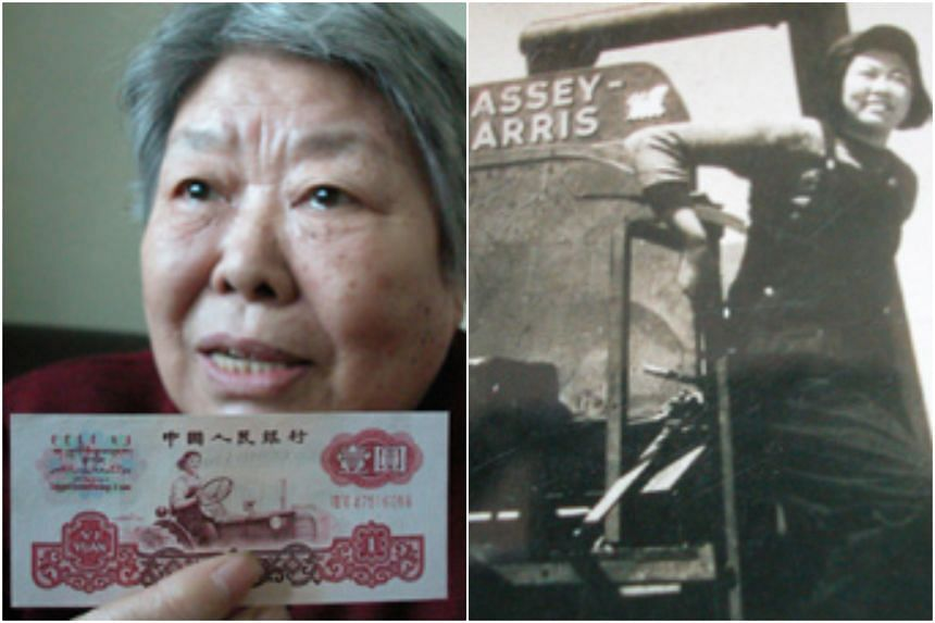 In 1948, Ms Liang Jun became the only woman in China to take up the job, when she enrolled in a class which trained tractor drivers.