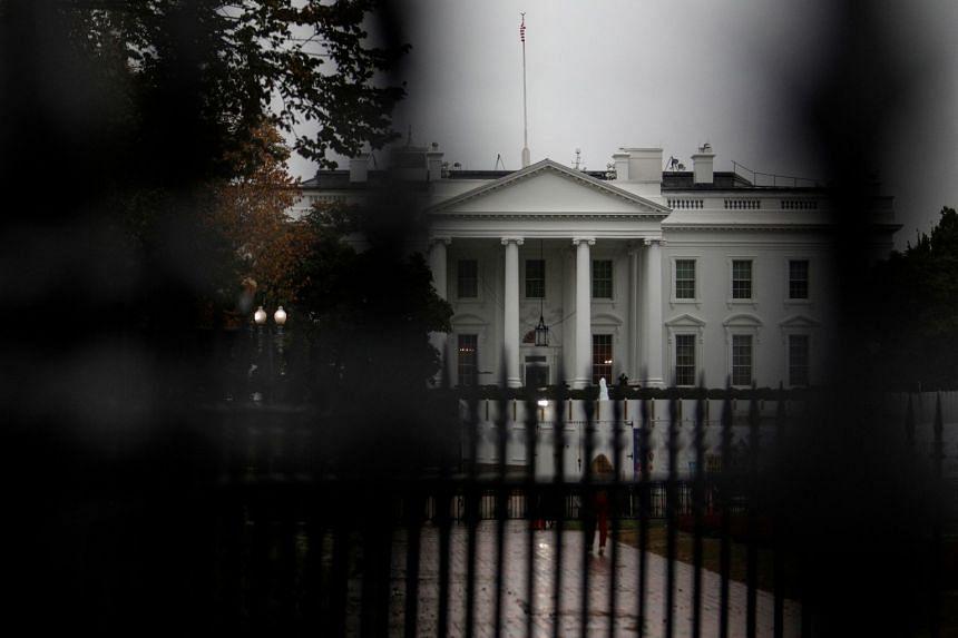 The White House is seen in Pennsylvania Avenue, Washington.