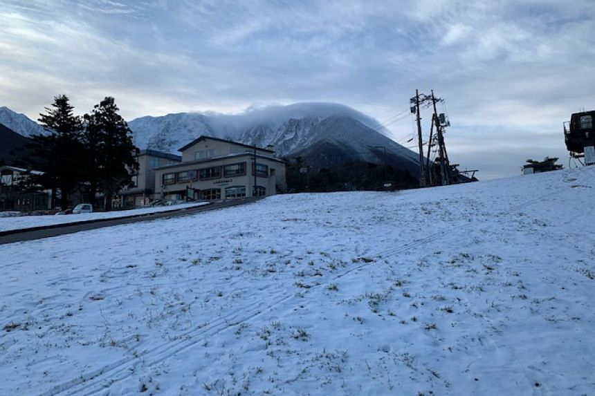 Daisen White Resort in Tottori, western Japan, has been shut since early January after opening over the year-end holiday.