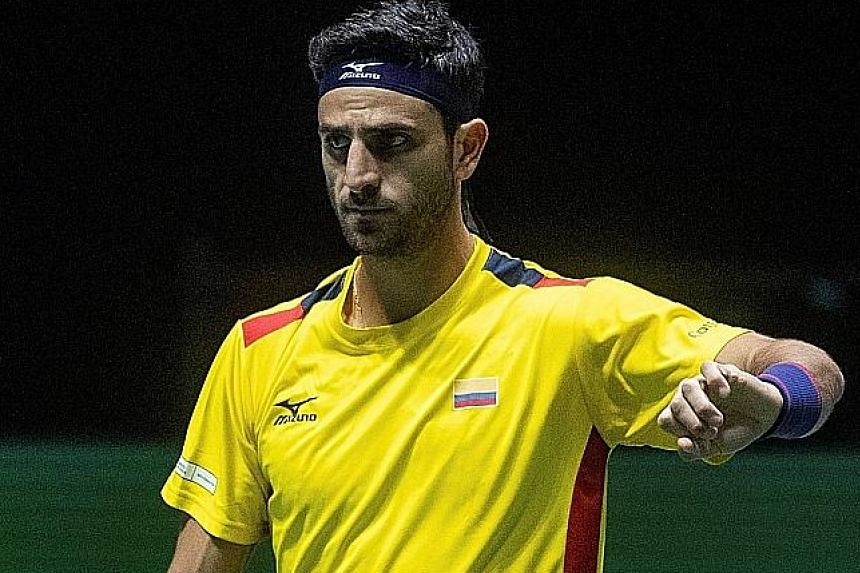 Colombian Robert Farah won two Grand Slam doubles titles last year.