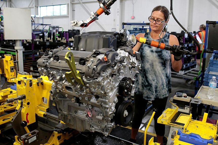 Aluminium and toys are on the list of goods affected by US tariffs. PHOTOS: REUTERS, AGENCE FRANCE-PRESSE
