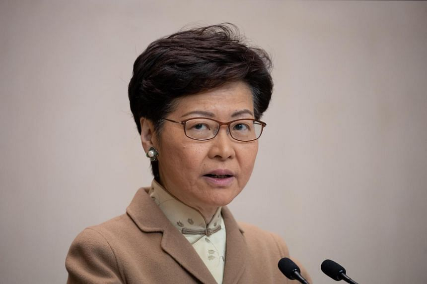 Hong Kong leader Carrie Lam's comments appeared to be an appeal to those in the city who see Beijing as tightening its control over the semi-autonomous territory's civic, economic and political life.