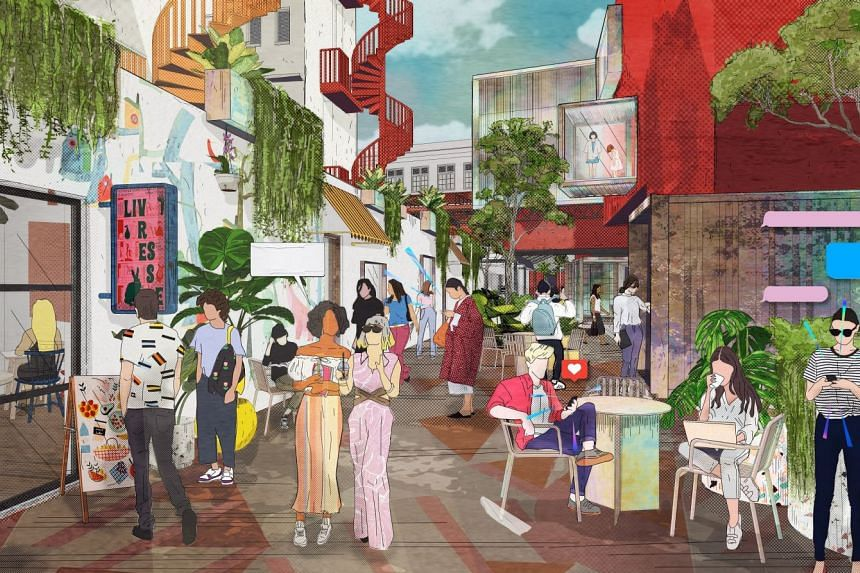 The revamped Bugis Village and Bugis Street will cater to the creative community in Bugis and shoppers keen to experience the eclectic Bugis old-world charm adapted for the new era.