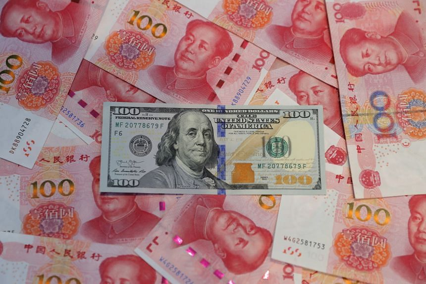The currency agreement contains pledges by China to refrain from competitive currency devaluations and to not target its exchange rate for a trade advantage.