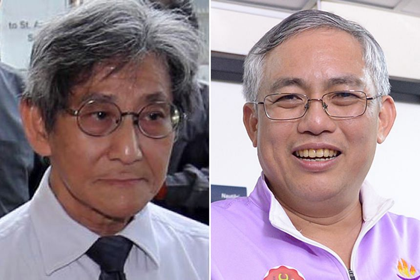 """Mr Alex Tan, who sits on PSP's CEC, described leaders of the proposed four-party alliance as captains of """"sinking boats"""". PPP's Goh Meng Seng said he was """"greatly disappointed"""" that Mr Alex Tan had """"shown such animosity"""" towards the planned alliance."""