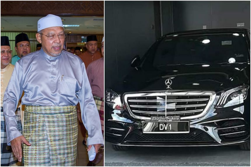 Chief minister of Kelantan state Ahmad Yakob is under scrutiny after he bought a black Mercedes model S450 L AMG as his official car.