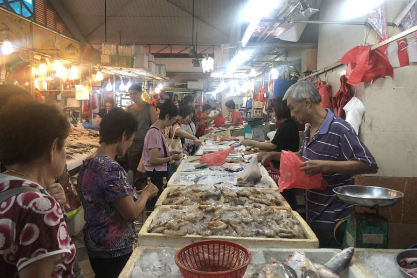 The prices of prawns, alongside vegetables like chye sim, xiao bai cai and spring onions are down a mouth-watering 50 per cent, thanks to improved weather in Malaysia boosting crop yields.