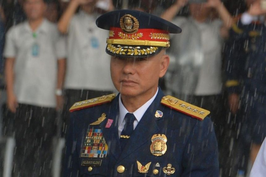 Mr Oscar Albayalde resigned in October after serving as Philippine police chief for more than a year.