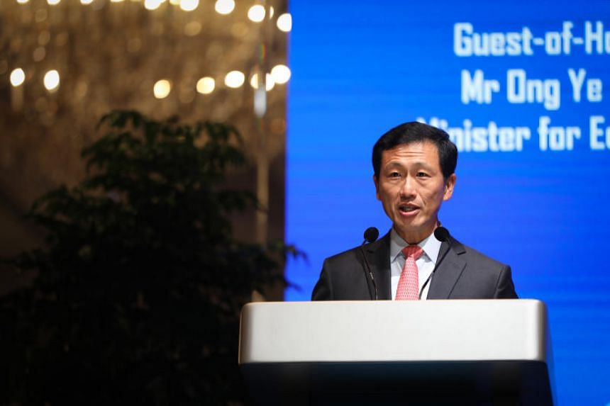 """Education Minister Ong Ye Kung also noted that increasingly, people agree that social media is """"profoundly altering public discourse, and the functioning of the democratic system""""."""