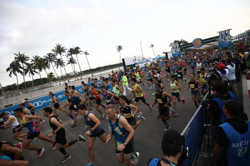 Standard Chartered Singapore Marathon 2019 saw the flag-off times of two categories shifted from their usual pre-dawn starts to 6pm.