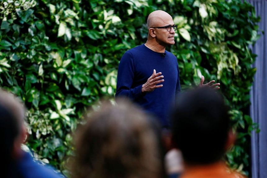 Microsoft CEO Satya Nadella speaks as the company announces plans to be carbon negative by 2030.