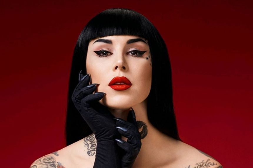Celebrity tattoo artist and founder of her namesake make-up brand Kat Von D is departing the brand to focus on other artistic endeavours, namely her vegan shoe line and upcoming music album.