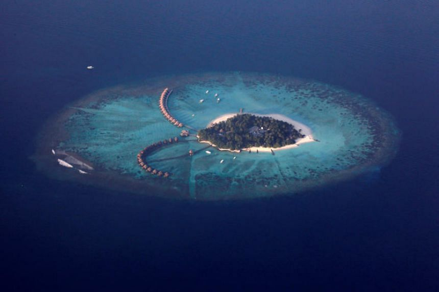 Maldives, best known for its white sands and palm-fringed atolls that draw luxury holiday-makers, has struggled to find money to build critical infrastructure like sea-walls.