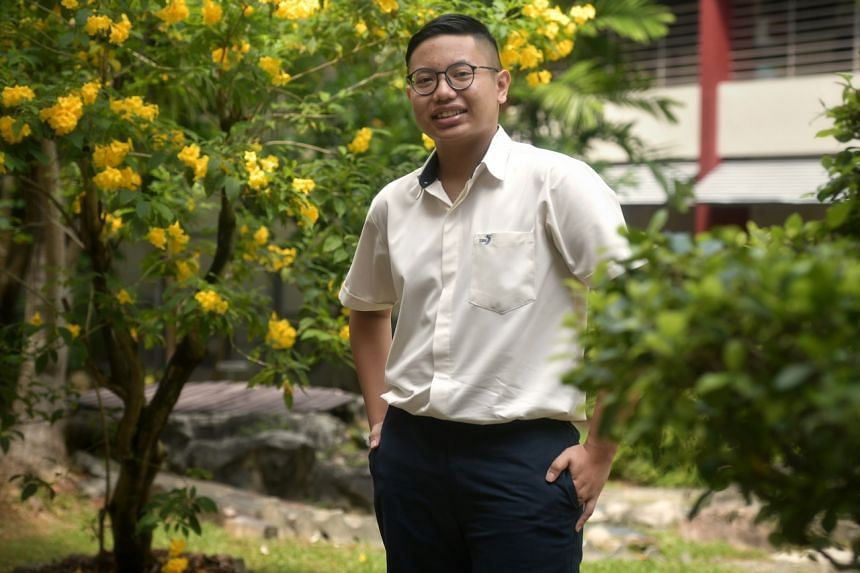 Xinmin Secondary School student Aqil Nasran Shah Nizam Shah, who scored 11 points in the O-level exams, lived frugally and skipped meals to save money for his parents who were facing financial difficulties due to medical issues.