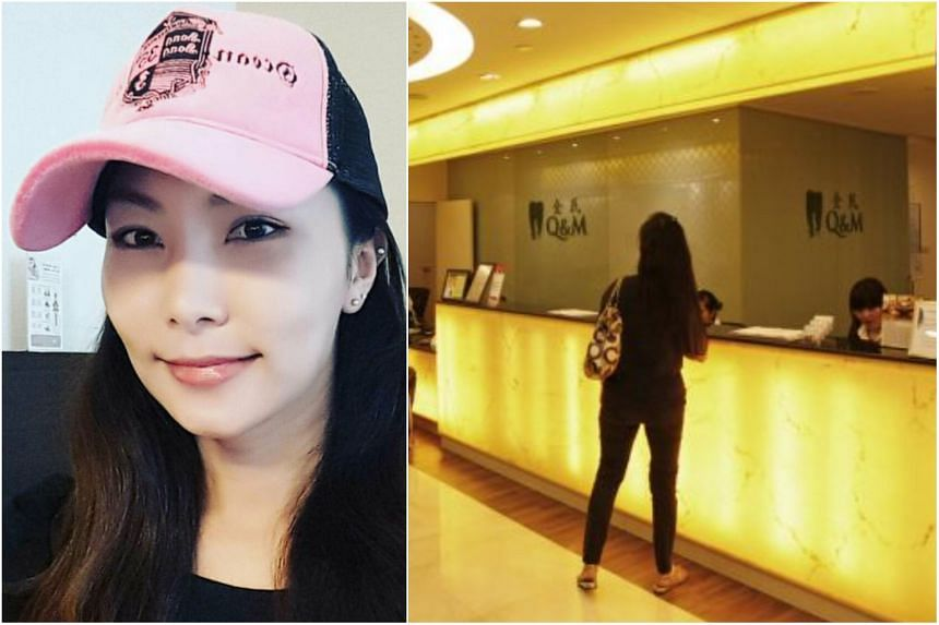 Q&M had filed a lawsuit against Madam Zoe Chong Lee Lee (above) and her husband, Dr Matthew Hong An Liang, who used to run Q&M dental clinics in Johor, Malaysia, back in 2017.