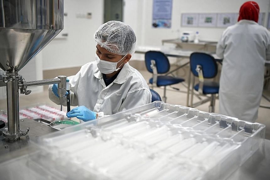 The MedTech facility, Racer Technology, which designs and makes high-value medical devices and lab equipment. Sales of pharmaceuticals rose in December.