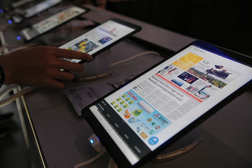SPH kick-started the transformation journey last month with the launch of The Straits Times News Tablet.