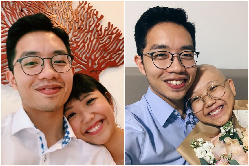 Mr Ian Ng decided breaking up with Ms Chan See Ting was not an option after she was diagnosed with stage three triple-negative breast cancer.