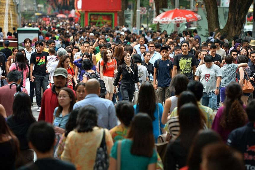 The diverse group of migrants in Singapore has tripled in the last 30 years from 1990 to last year, according to figures from the United Nations Department of Economic and Social Affairs.