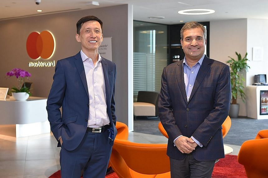 Mastercard's co-presidents for the region - the China-born Ling Hai, and India-born Ari Sarker. Mr Ling runs the Mastercard business for Australasia and North-east Asia, and Mr Sarker focuses on South and South-east Asia. Both of them have seats on t