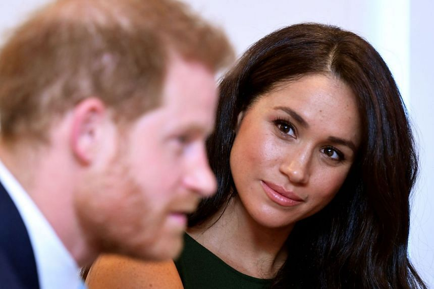 Meghan and Harry attend the annual WellChild Awards in London in October 2019.