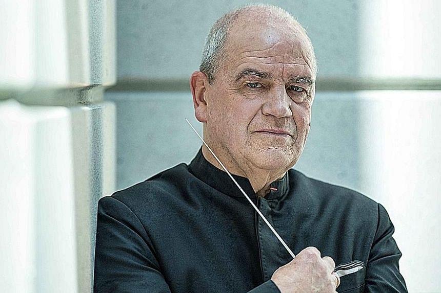 Conductor Hans Graf.