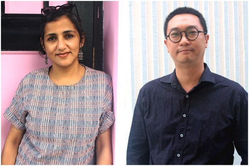Classically-trained Odissi dancer Raka Maitra (left) and artist-curator Woon Tien Wei assumed their new roles from Jan 6.