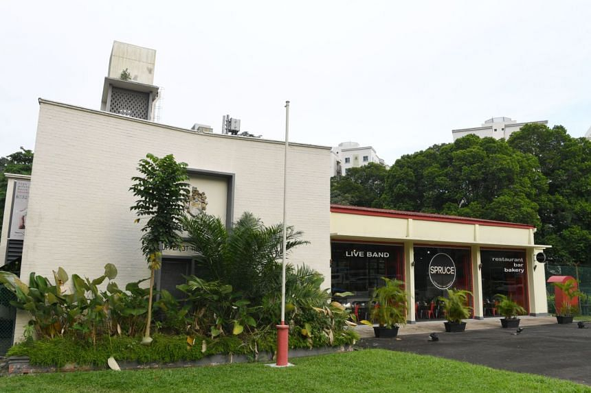 Bukit Timah fire station (pictured) was Singapore's fourth after the Central Fire Station and suburban stations in Geylang and Alexandra.