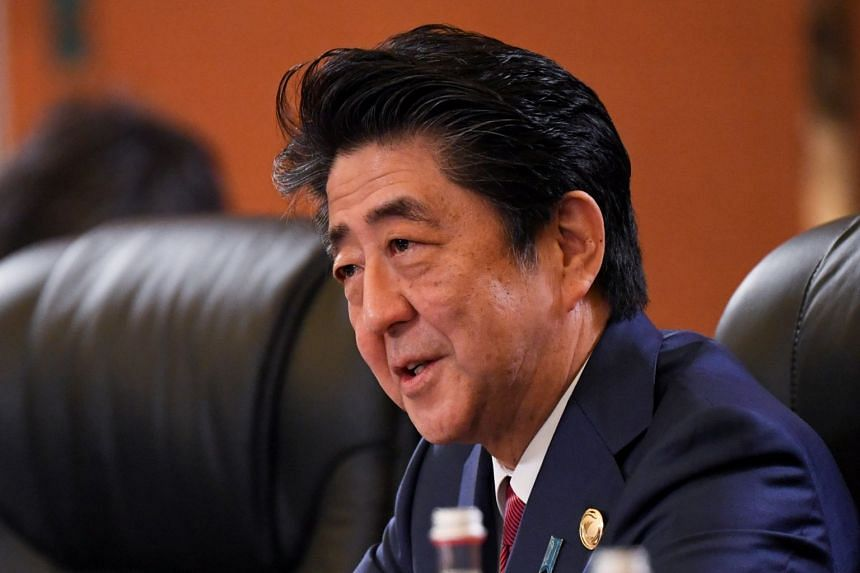 Prime Minister Shinzo Abe has raised the issue of amending the pacifist post-war Constitution at almost public speaking opportunity since the new year.